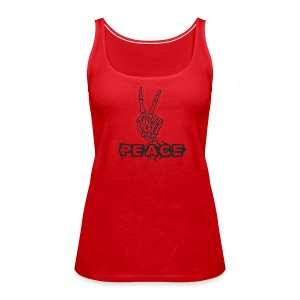 Skelly Peace - Women's Premium Tank Top