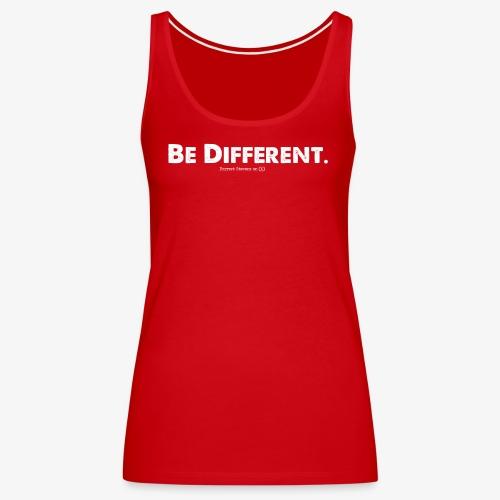 Be Different // Forrest Stevens Official merch. - Women's Premium Tank Top