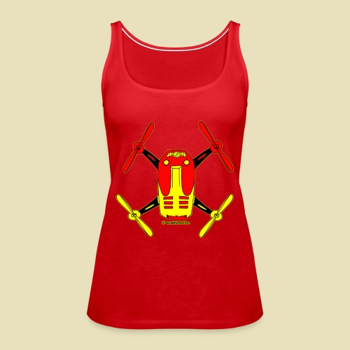 GrisDismation Ongher Droning Out Tshirt - Women's Premium Tank Top