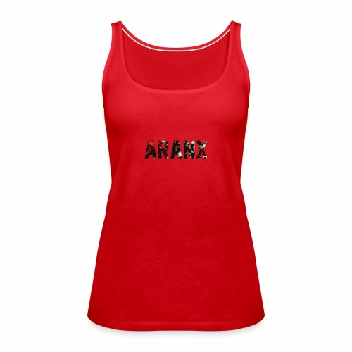Aranx Logo - Women's Premium Tank Top