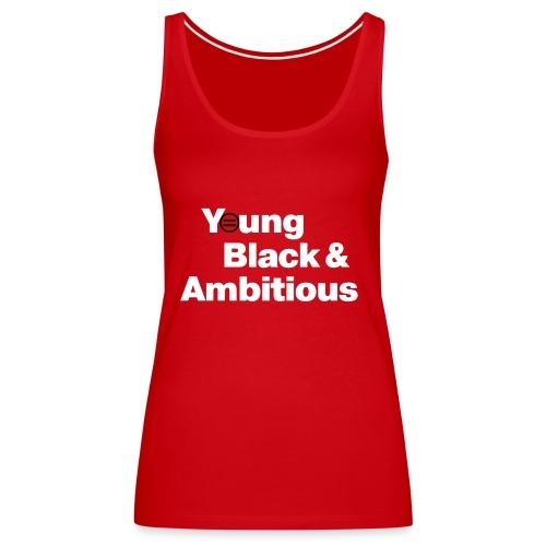 YBA Red and Blue Shirts2 - Women's Premium Tank Top