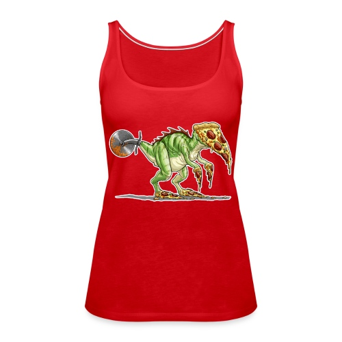 pizzasaurus - Women's Premium Tank Top