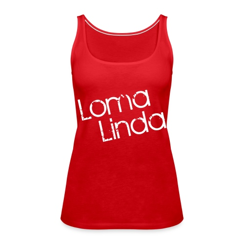 lomalinda white - Women's Premium Tank Top