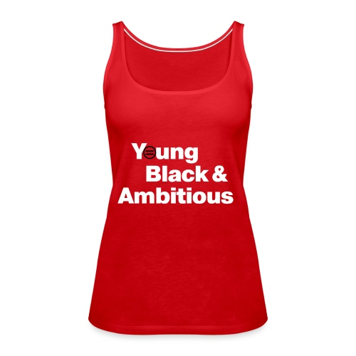 YBA Red and Blue Shirts2 - Women's Premium Tank Top
