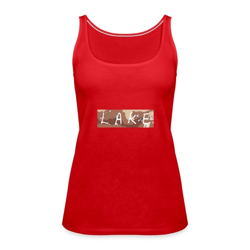 LAKE_LOGO2 - Women's Premium Tank Top