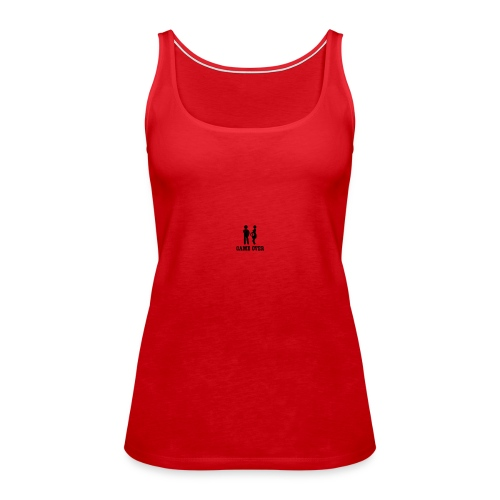couple game over - Women's Premium Tank Top