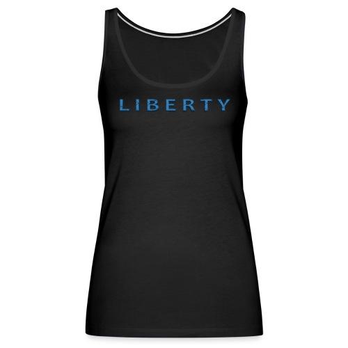 Liberty Libertarian Design - Women's Premium Tank Top