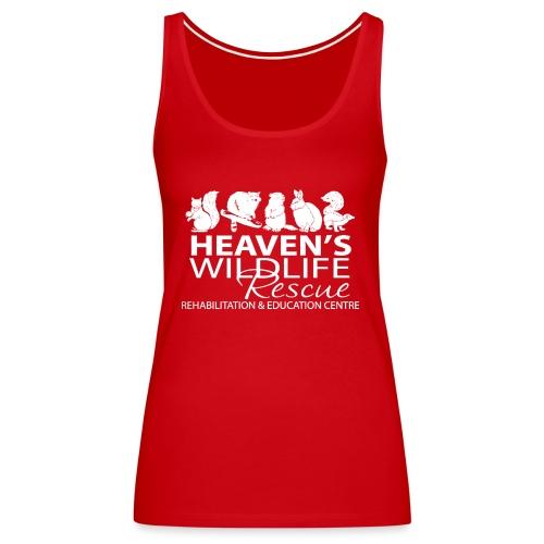 HWR White - Women's Premium Tank Top