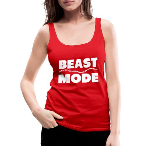 Beast Mode - Women's Premium Tank Top