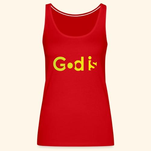 GOD IS #7 - Women's Premium Tank Top