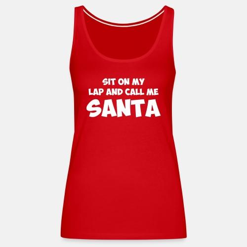 Sit on my lap and call me santa ats