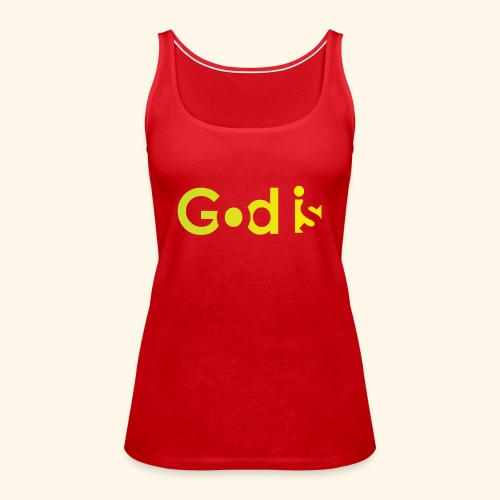 GOD IS #7 - Women's Premium Tank Top