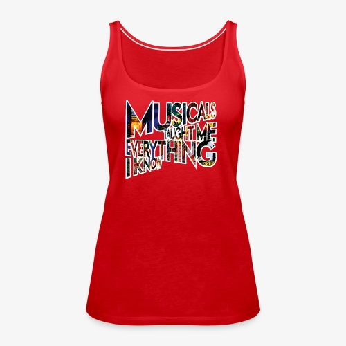 MTMEIK Broadway - Women's Premium Tank Top