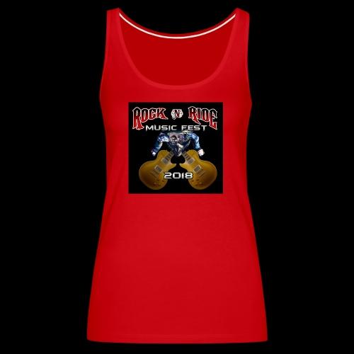 RocknRide Design - Women's Premium Tank Top
