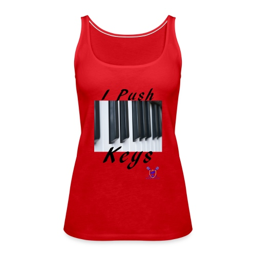 Push keys T - Women's Premium Tank Top