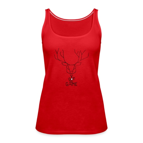 Stag GOT GAME - Women's Premium Tank Top