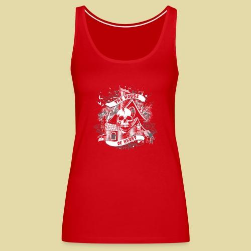 hoh_tshirt_skullhouse - Women's Premium Tank Top
