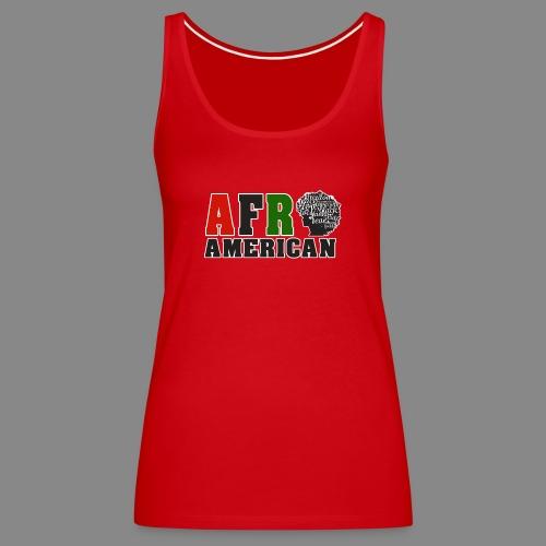 Afro American RBG - Women's Premium Tank Top