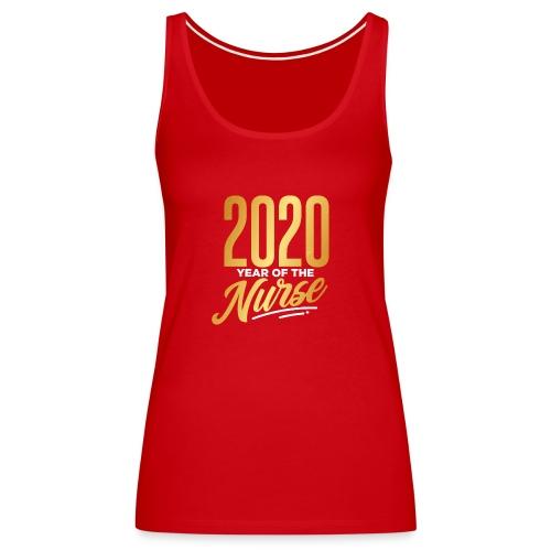 2020 YEAR OF THE NURSE - Women's Premium Tank Top