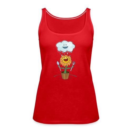 Cloud & Flower - Best friends forever - Women's Premium Tank Top