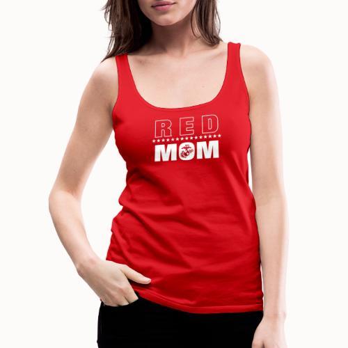 RED Marine MOM - Women's Premium Tank Top
