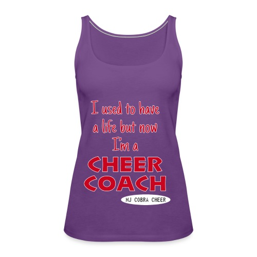 Cobra Cheer Coach - Women's Premium Tank Top