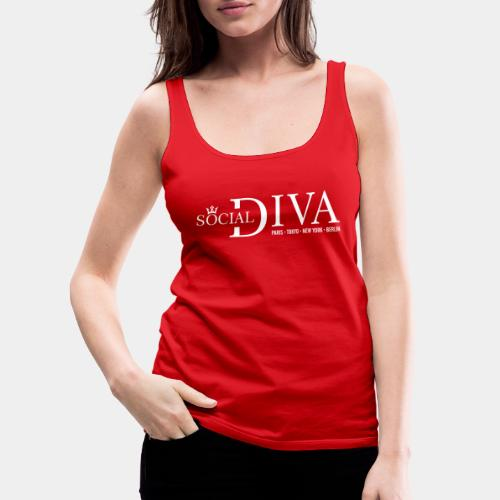 social diva fashion - Women's Premium Tank Top