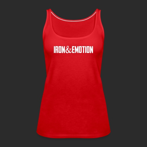 IRON EMOTION s LOGO - Women's Premium Tank Top
