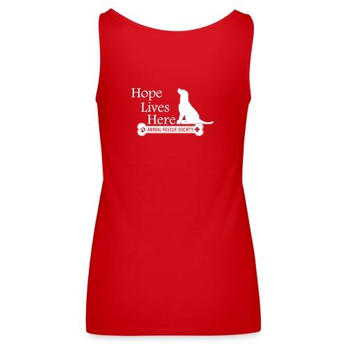 Hope Lives Here Women's Hoodie - Women's Premium Tank Top