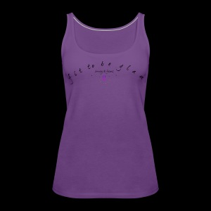 fit to be glam 2 - Women's Premium Tank Top