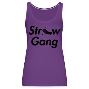 Straw Gang - Women's Premium Tank Top