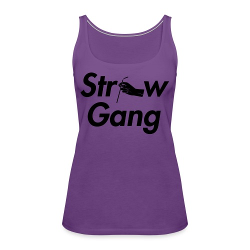 Straw Gang - Women's Premium Tank Top