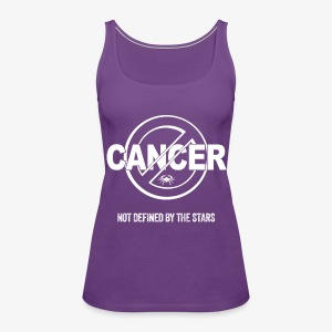 Cancer - Not Defined by the Stars - Women's Premium Tank Top