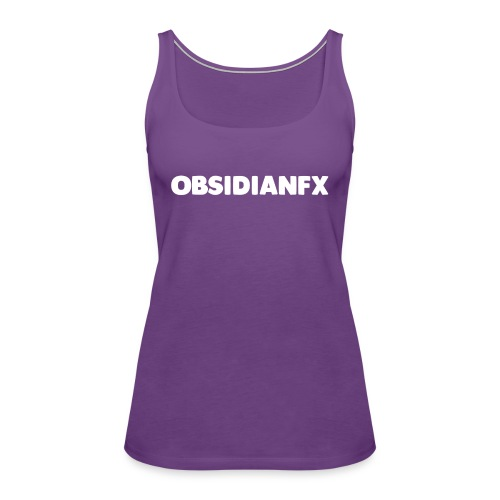 ObsidianFX Merch - Women's Premium Tank Top