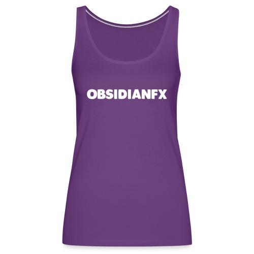 ObsidianFX Merch - Women's Premium Tank Top