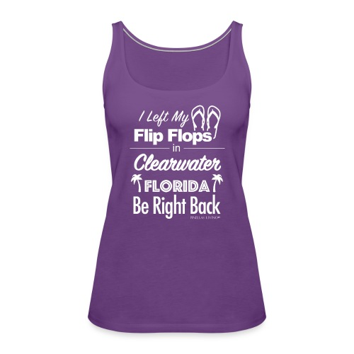 Clearwater Flip Flops - Women's Premium Tank Top