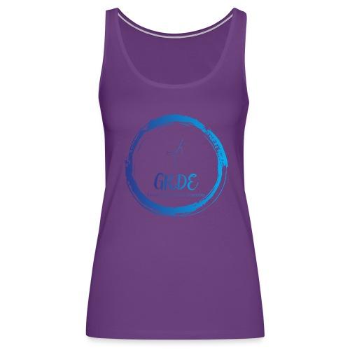 Grand Rapids Dance Ensemble logo - Women's Premium Tank Top