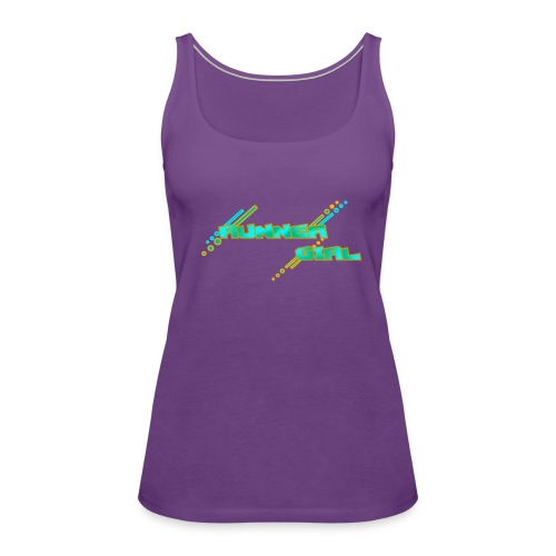 RUNNER GIRL OG - Women's Premium Tank Top