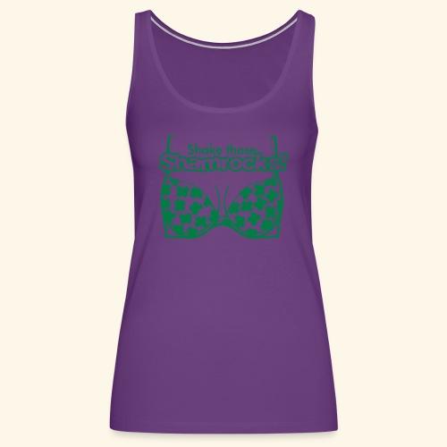 Shake those Shamrocks Shirt for women - Women's Premium Tank Top