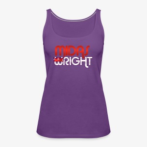 Midas Wright Official Logo - Women's Premium Tank Top