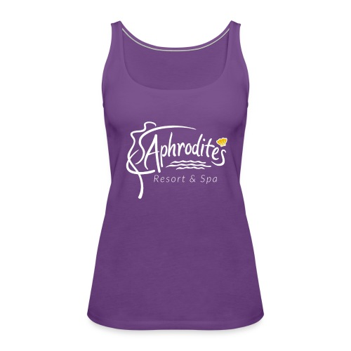 Aphrodite's Resort & Spa Logo - Women's Premium Tank Top