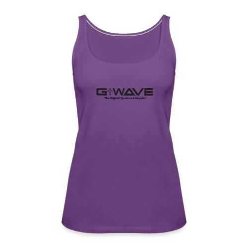 G-WAVE - The Original Quantum Computer - Women's Premium Tank Top