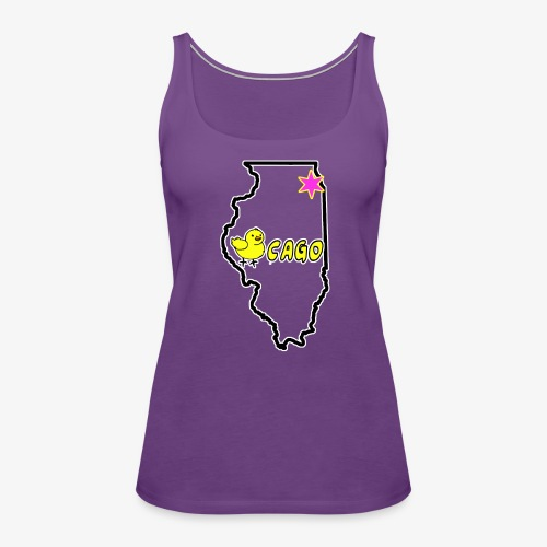 CHICKago Top - Women's Premium Tank Top