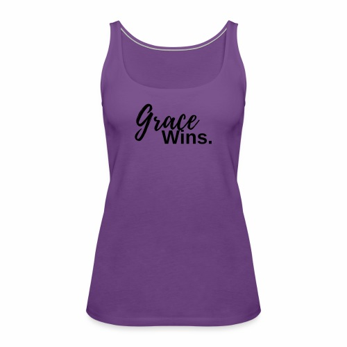 Grace Wins - Women's Premium Tank Top