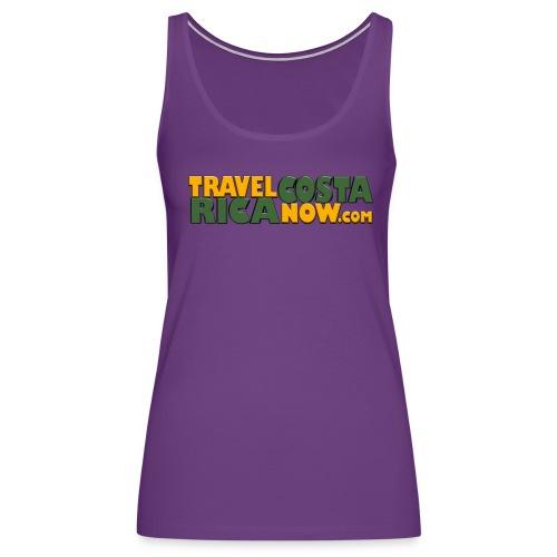 Travel Costa Rica Now LOGO - Women's Premium Tank Top