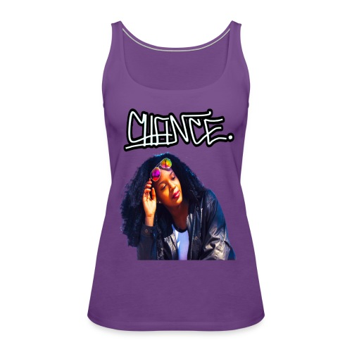 Chance Portrait - LIMITED EDITION - JMMS RECORDS - Women's Premium Tank Top