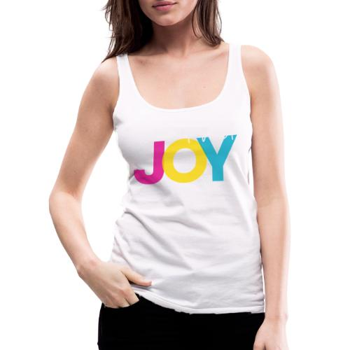 But First, Joy Merch - Women's Premium Tank Top