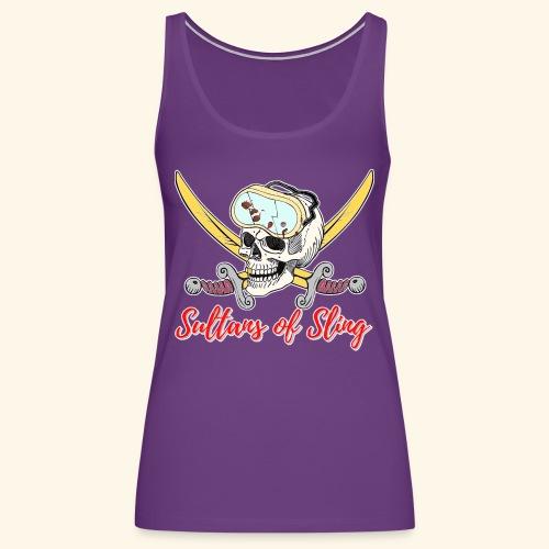 Sultans Skully Logo - Women's Premium Tank Top