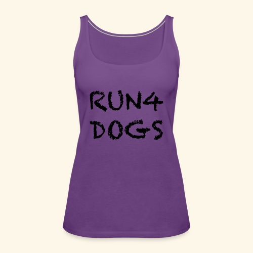 RUN4DOGS NAME - Women's Premium Tank Top