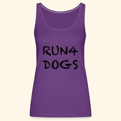 RUN4DOGS NAME - Women's Premium Tank Top
